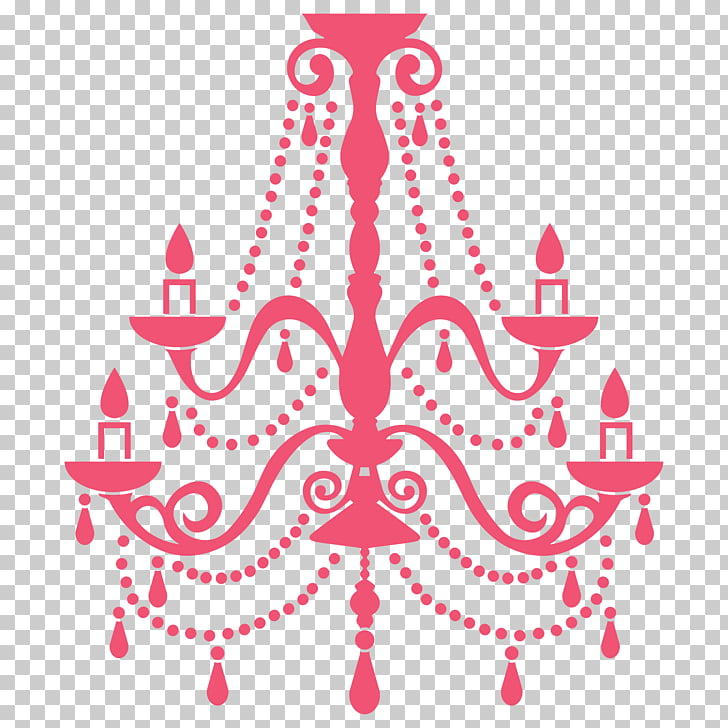 Wall decal Chandelier Sticker Roommate, lustre PNG clipart.