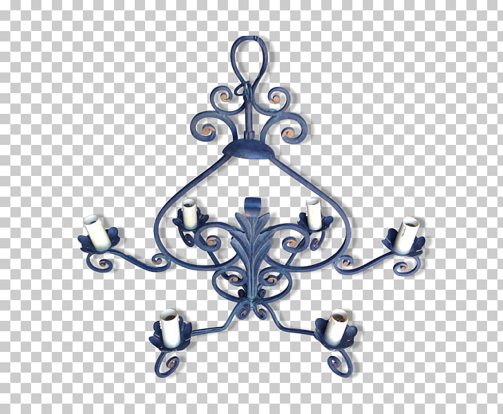 Lighting Light fixture Cobalt blue, lustre PNG clipart.