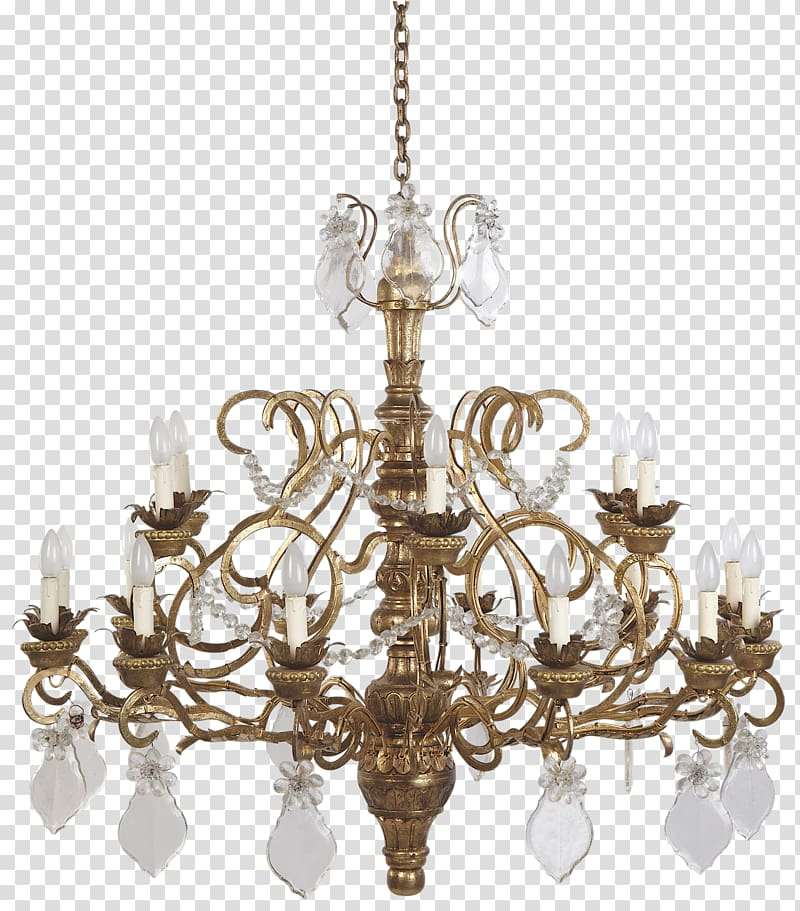 Lighting Chandelier Light fixture Lamp, lustre transparent.