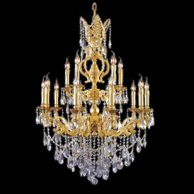 Lustre, Magnifique, Continental, Cristal Image PNG pour le.