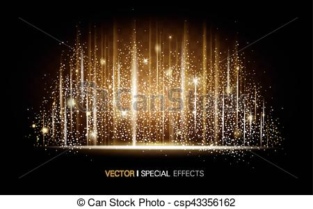 Clip Art Vector of metallic luster background.