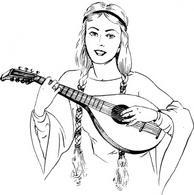 String Instrument Free Vectors.