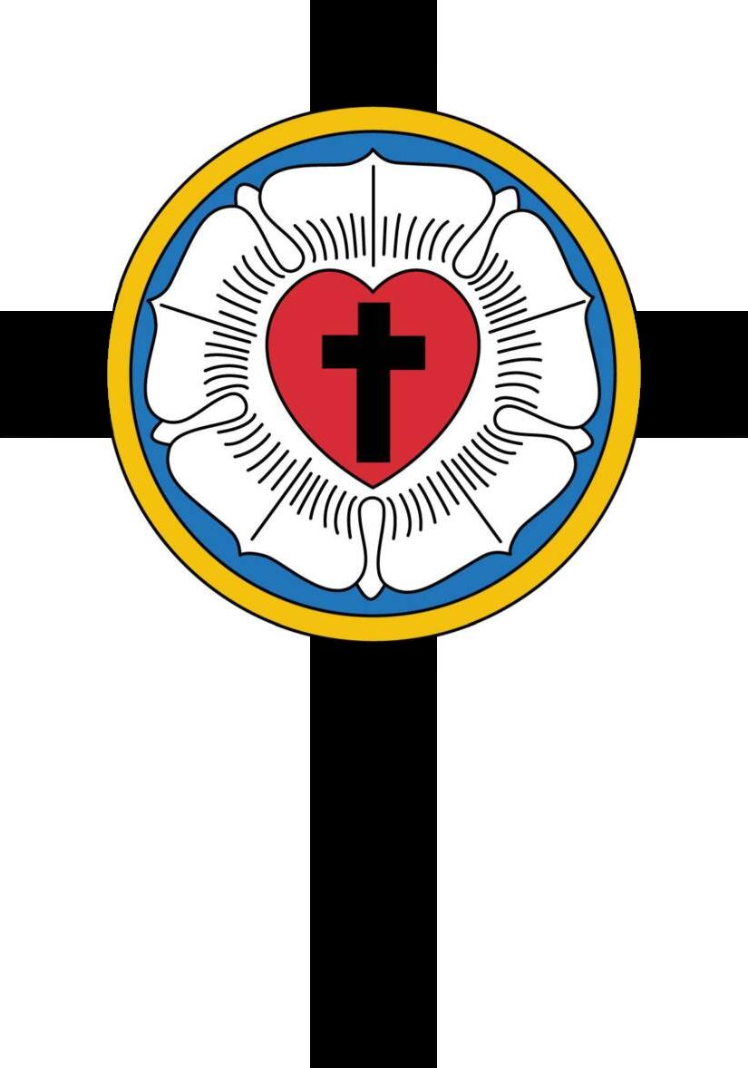 Lutheran Confirmation Symbols free image.