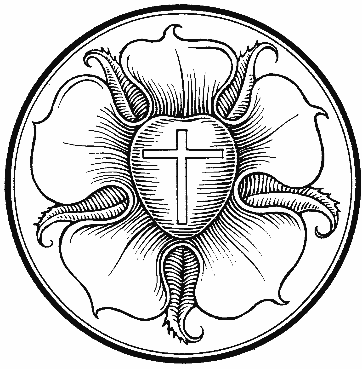 Luther\'s Seal Clip Art.