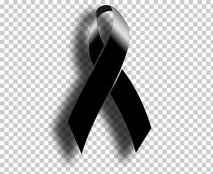 Death Brazil Actor, luto., black ribbon art PNG clipart.