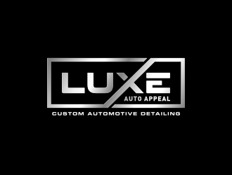 LUXE Auto Appeal logo design.