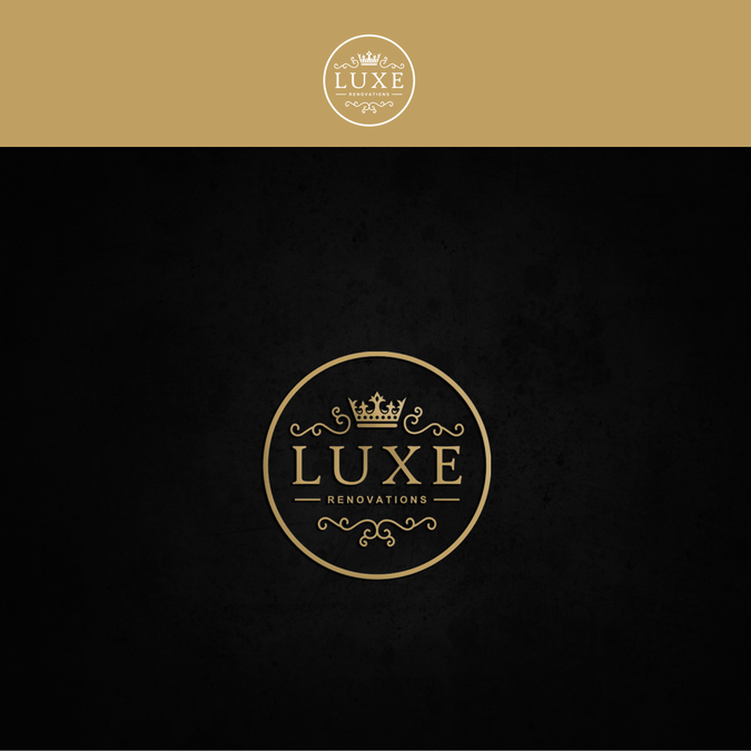 Luxe Renovations Logo Design.