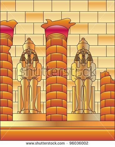 Luxor Temple Stock Vectors & Vector Clip Art.