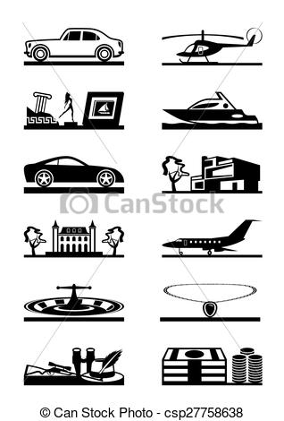Luxury goods Clip Art and Stock Illustrations. 1,627 Luxury goods.
