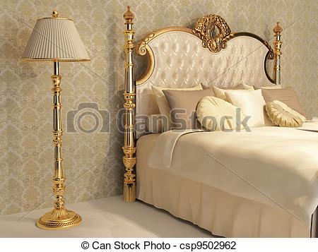 Luxurious bedroom Clip Art and Stock Illustrations. 145 Luxurious.