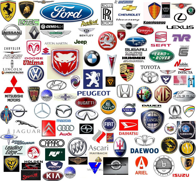 luxury car logos.