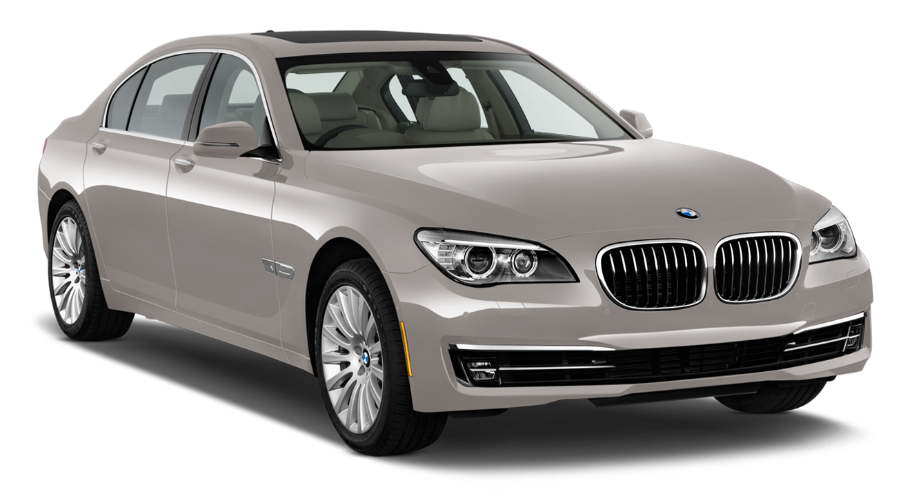 Beige BMW Sedan 5 2013 Car PNG Clipart.
