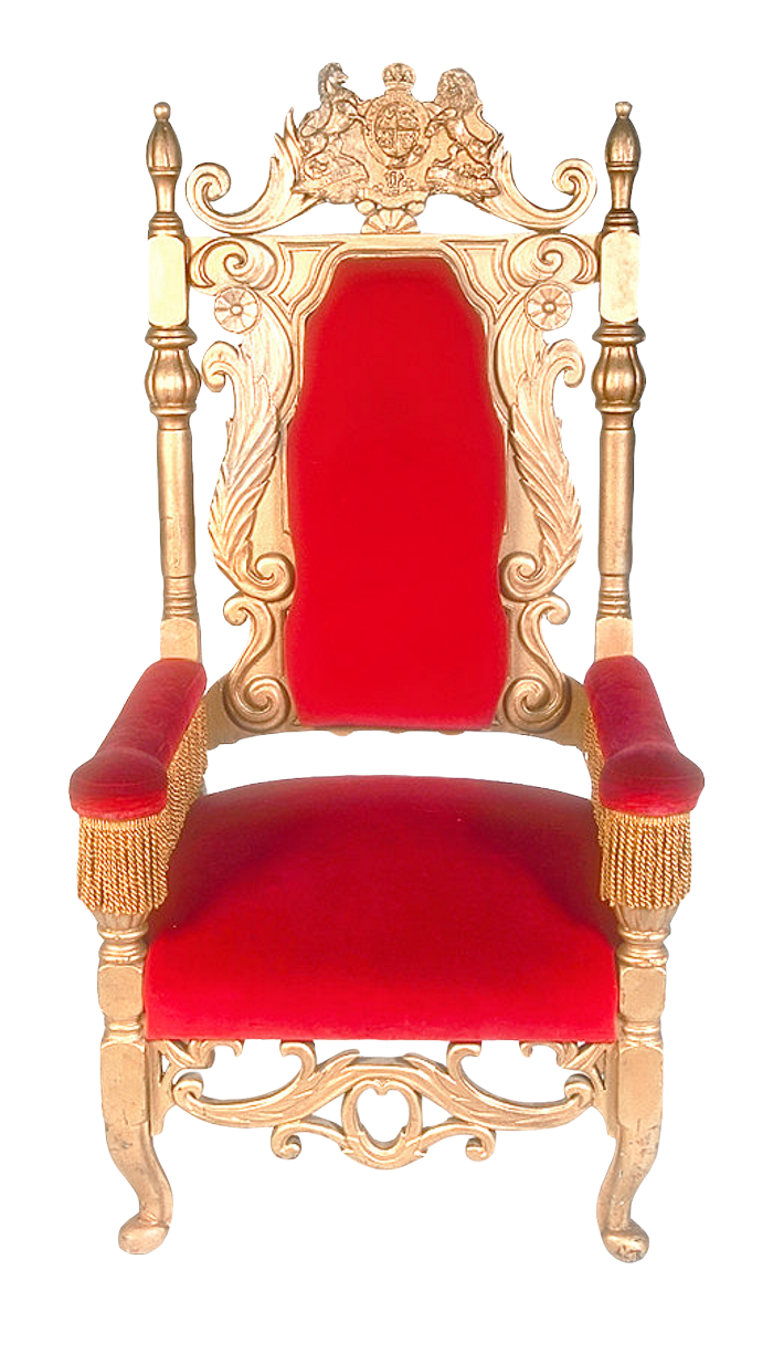 Classic Luxury Chair PNG Transparent Image.