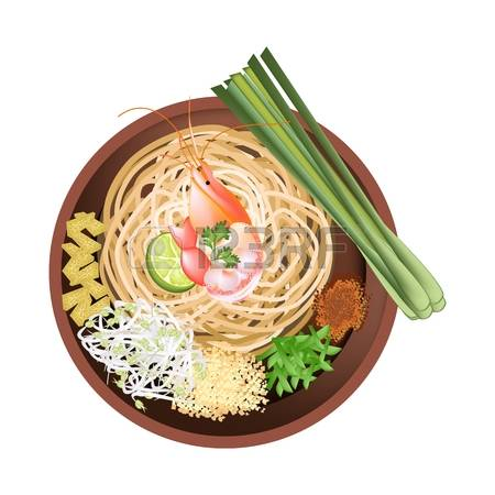 326 Noodle Thai Stock Illustrations, Cliparts And Royalty Free.