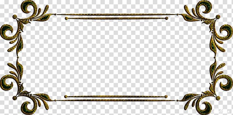 Frames Gold, luxury frame transparent background PNG clipart.
