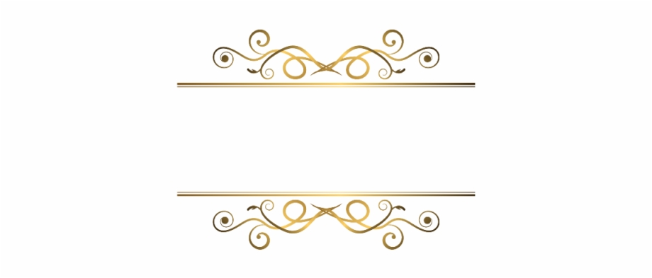Luxury Ornament Frame Ornament Vector Png.