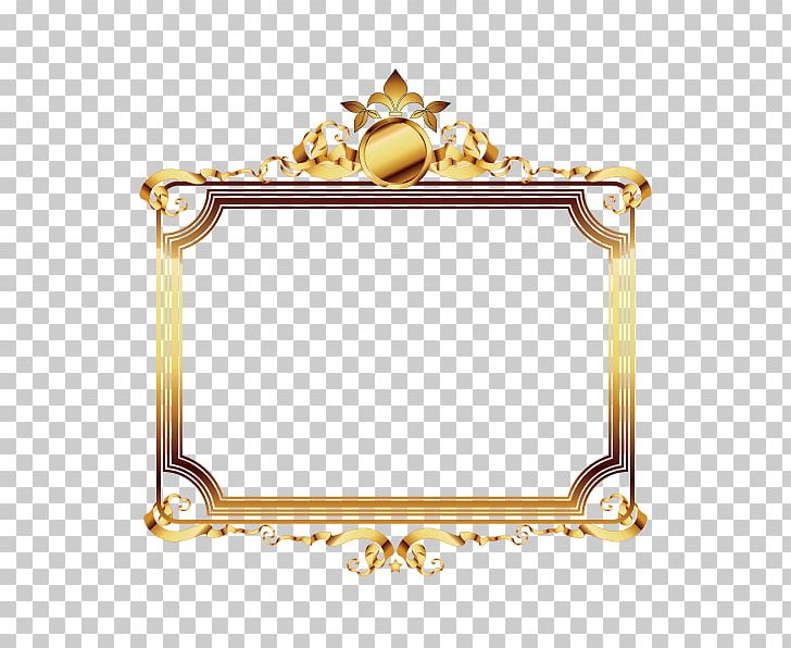 Frame Gold Film Frame Luxury PNG, Clipart, Beautiful Vector.