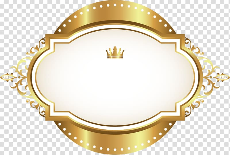 Gold and beige template layout, Icon, Luxury gold border.