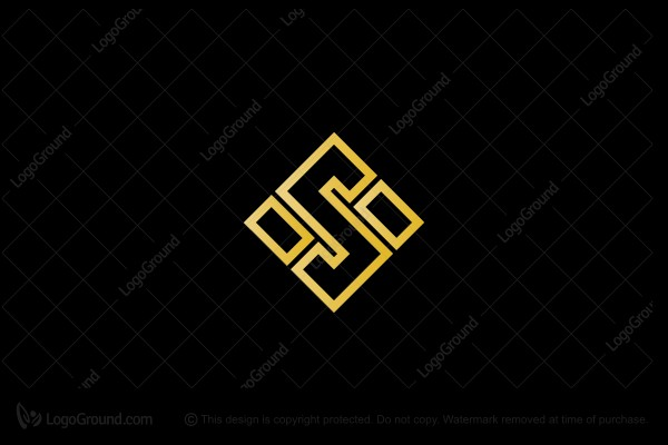 Exclusive Logo 188248, Rectangular Letter S Logo.