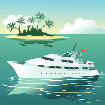 Yacht Clip Art, Vector Images & Illustrations.