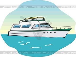 Clipart Yacht.