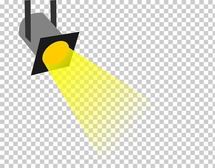 Ilustración de luz amarilla, foco a la izquierda PNG Clipart.