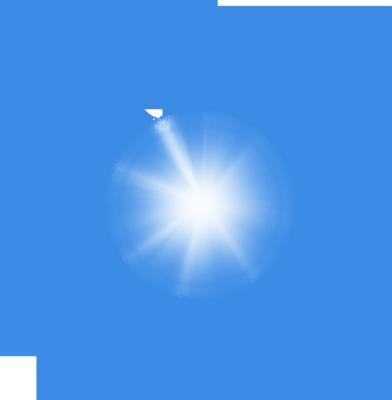 Luz azul png 2 » PNG Image.