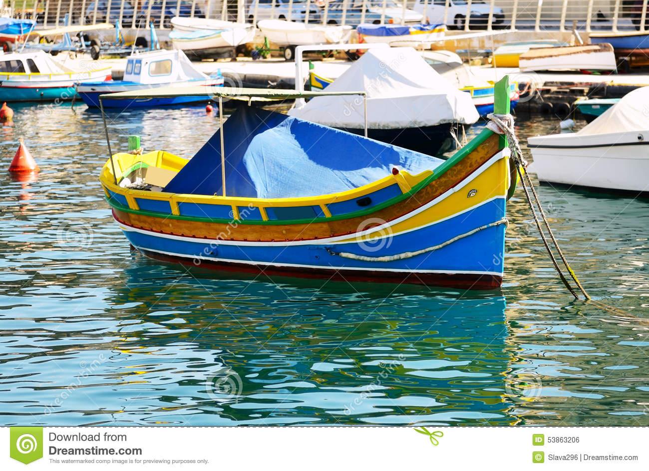 Traditional Maltese Boat.