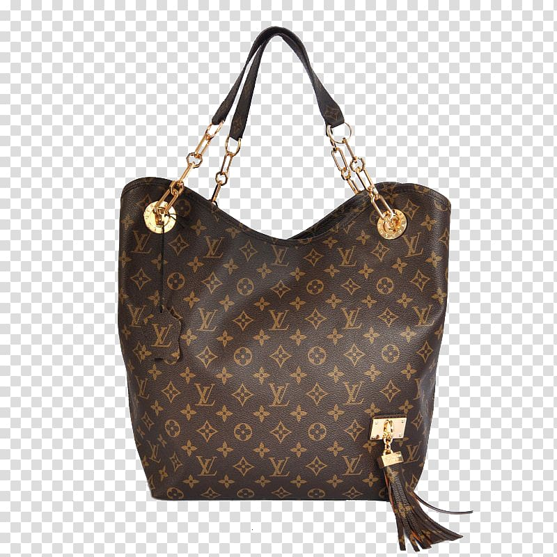 Chanel Louis Vuitton Handbag LV Bag, Ms. LV brown shoulder.