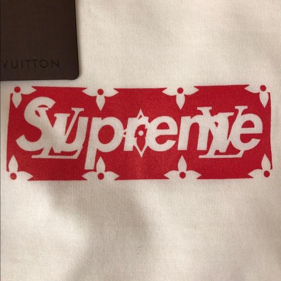 Supreme Louis Vuitton Box Logo NWT.
