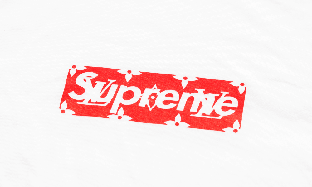 Louis Vuitton/Supreme Box Logo Tee.