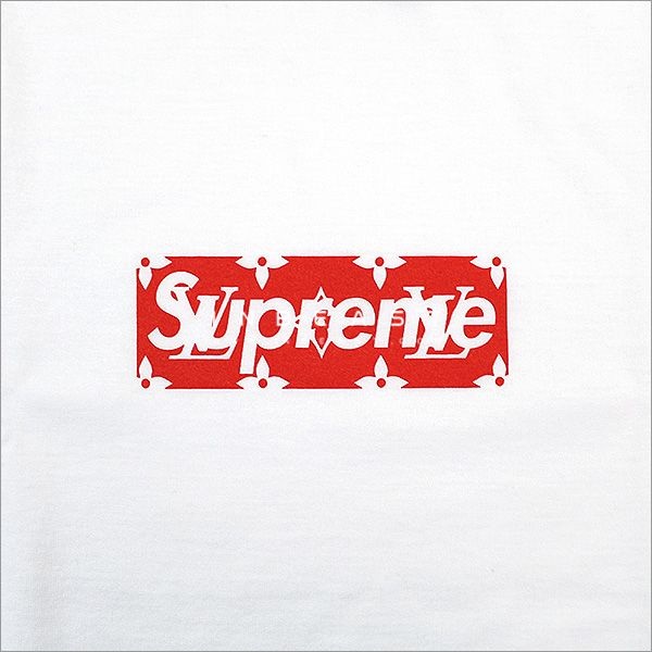 Louis Vuitton Supreme Logo.