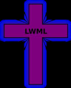 Lwml Purple Cross Clip Art at Clker.com.