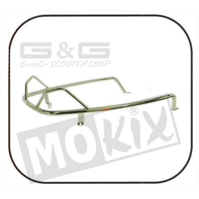 Crash bar Side protector for rear Faco Chrome Piaggio Vespa LX 50.