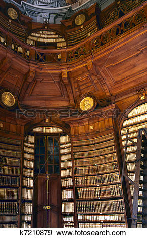 Stock Photograph of The Archdiocesan Library in the Lyceum of Eger.