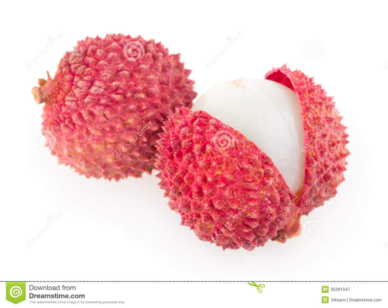Lychee Royalty Free Stock Photography.
