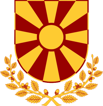 Emblem of the Army of the Republic of Macedonia.