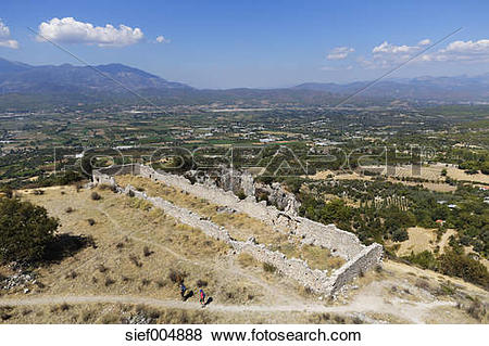 Pictures of Turkey, Lycia, Ancient city Tlos,View above the.