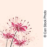 Lycoris Vector Clipart Royalty Free. 9 Lycoris clip art vector EPS.