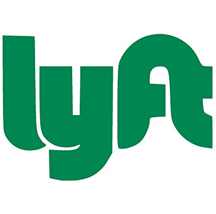 LYFT Logo Vinyl Sticker Decal (4\
