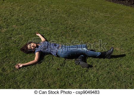 Stock Photos of Dead female.