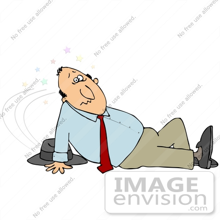 People lying on floor clipart.