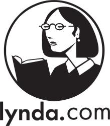 lynda com™ logo vector.