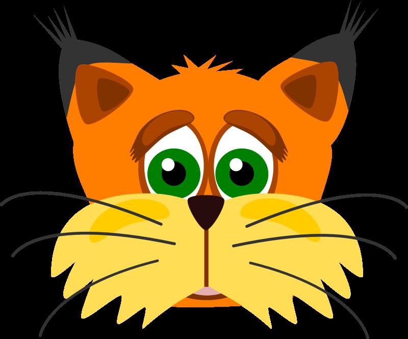 Free to Use & Public Domain Lynx Clip Art.