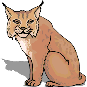 Lynx clipart, cliparts of Lynx free download (wmf, eps, emf, svg.