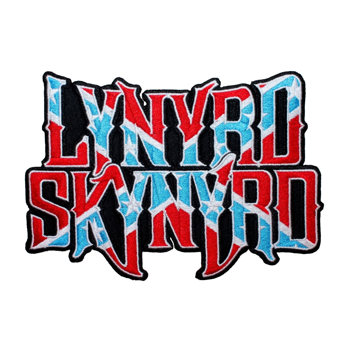 Lynyrd Skynyrd Larger Band Logo Patch Southern Rock Band Music Iron On  Applique.