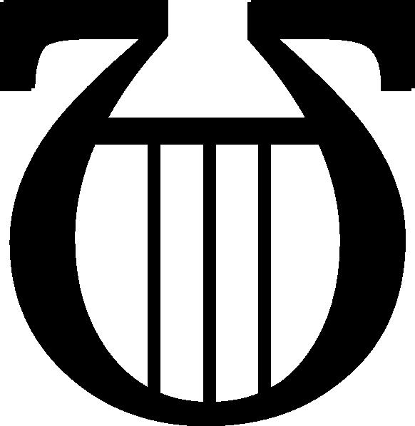 Black Lyre Clip Art at Clker.com.