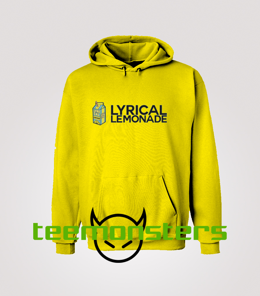 Lyrical Lemonade Logo With Font Hoodie.
