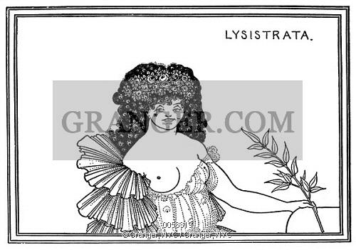 Image of BEARDSLEY: LYSISTRATA, 1896..