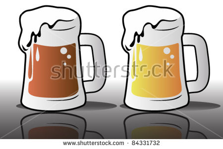 Pilsner Beer Glass Stock Images, Royalty.